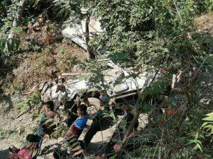 गुल्मी जीप दुर्घटनाः मृतक संख्या ६ पुग्यो