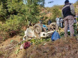 बैतडीमा जीप दुर्घटना हुँदा ५ जनाको मृत्यु
