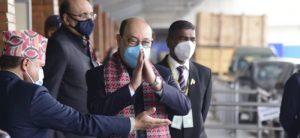 भारतका विदेशसचिव हर्षवर्ध्दन काठमाडौंमा