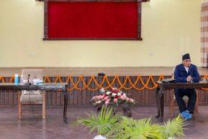 नेकपा सचिवालय बैठक मंसिर २० गतेसम्मका लागि स्थगित