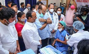 भारतमा पहिलो दिन १ लाख ९१ हजारले पाए कोरोना खोप