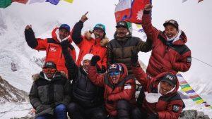 नेपाली पर्वतारोहीले रचे इतिहास, राखे विश्व रेकर्ड, हिउँदमै दोश्रो उच्च शिखर K2को सफल आरोहण