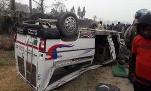 सुनसरीमा माइक्रोबस र मोटरसाइकल ठोक्किँदा ३ जनाको मृत्यु