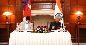 नेपाल-भारतबीच सीमाङ्कन गर्न बाँकी काम यथाशीघ्र थाल्ने सहमति