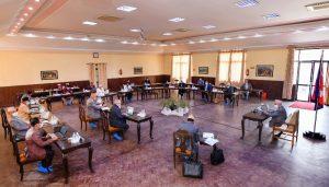 फागुन २३ मा संसद् बैठक आह्वान गर्न सिफारिस गर्ने निर्णय