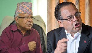 राजीनामाबारे अन्तिम टुंगोमा पुग्न १२ बजे माधव पक्षको बैठक बस्दै